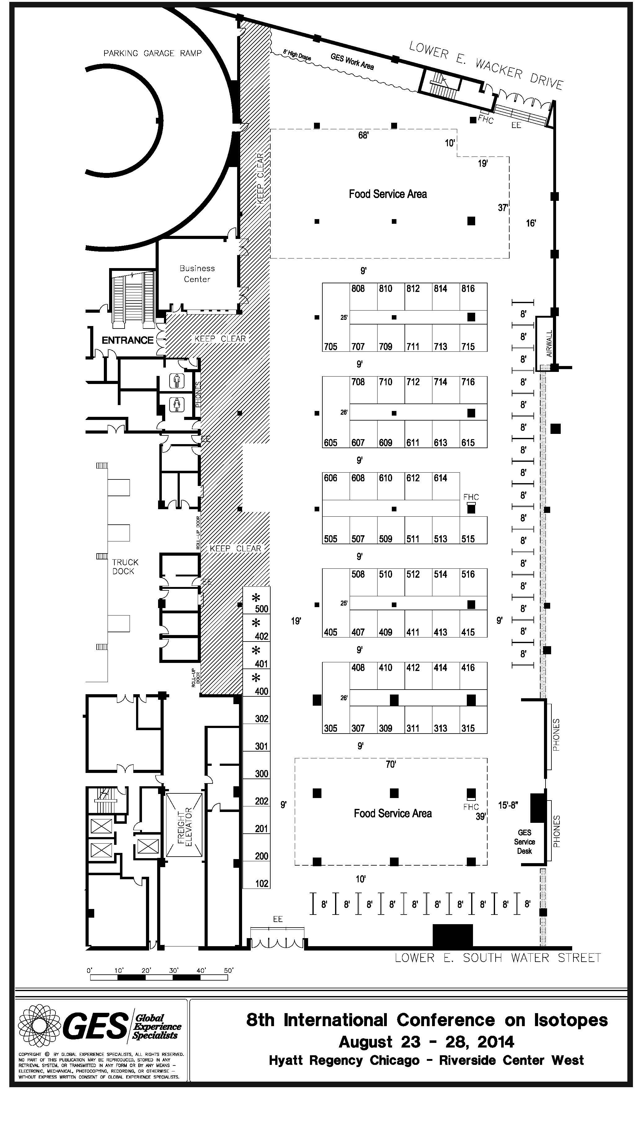 8ICI Exhibitor Floorplan for Hyatt Regency-Chicago (rev. Feb 17)