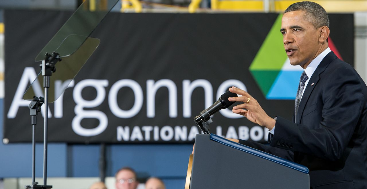 President Obama speaks at Argonne